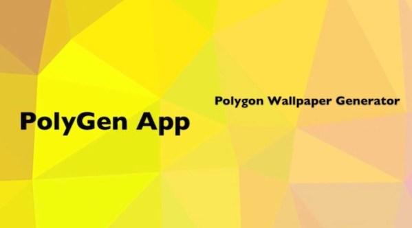 PolyGen – aplikacja do tworzenia wyjątkowych tapet