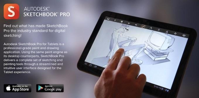 Sketchbook Pro na tablety