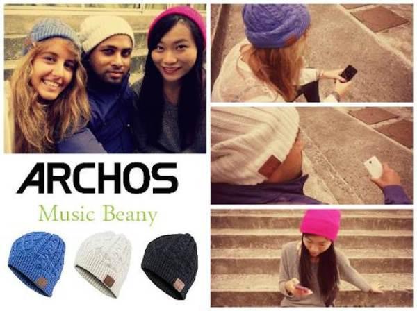 Archos Music Beany – bezprzewodowe słuchawki w czapce
