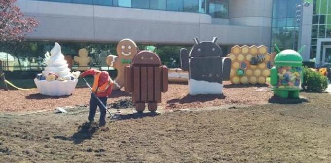 Miejsce pod posąg Androida L