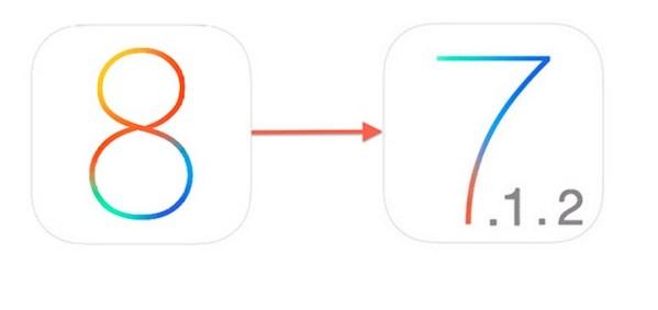 Jak przywrócić system iOS 7.1.2 z iOS 8?