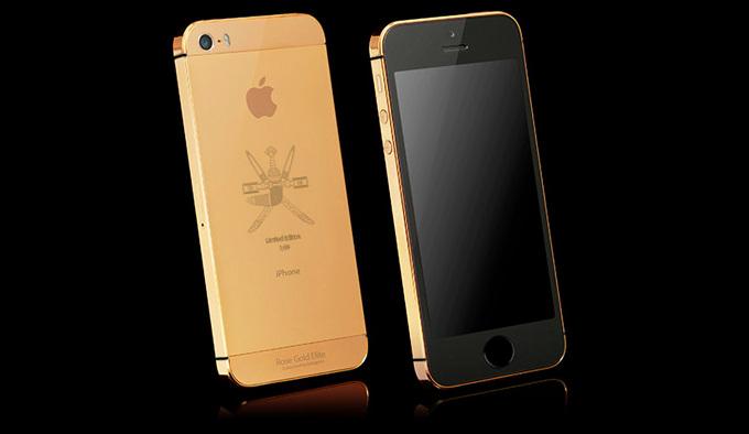 iPhone 5s Gulf States by Goldgenie