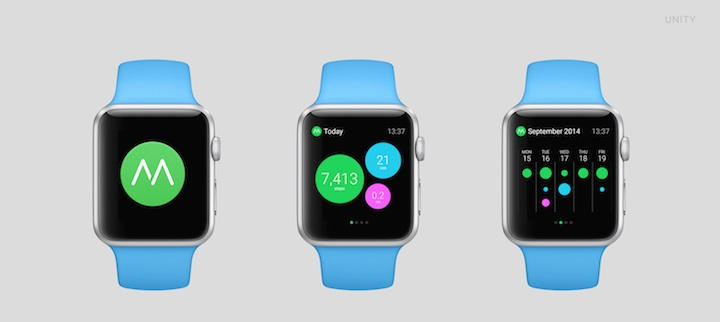 Moves na Apple Watch