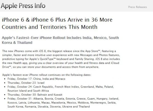 iPhone 6 i 6 Plus 24 października w Polsce