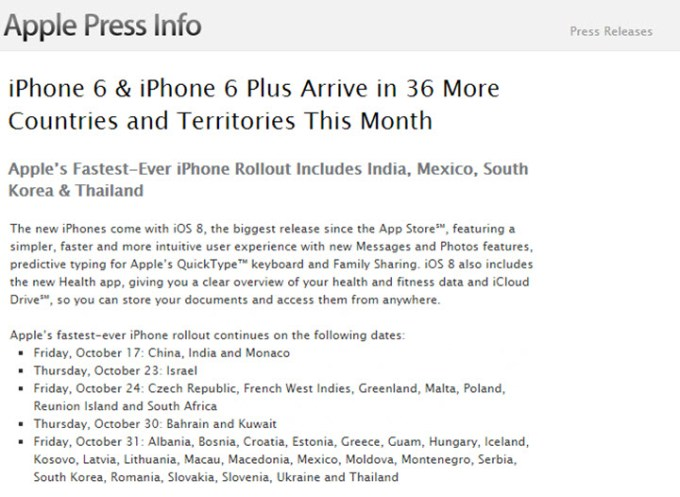 iPhone 6 i iPhone 6 Plus w Polsce