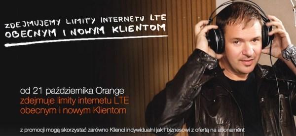 Orange zdejmuje limity internetu LTE!
