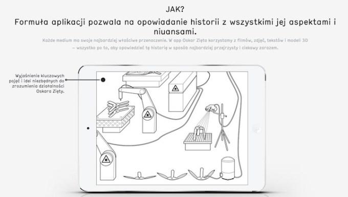 Aplikacja mobilna Oskar Zięta