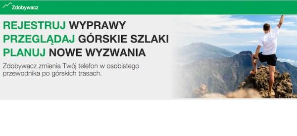 Zdobywacz.pl – mobilny przewodnik po szlakach górskich