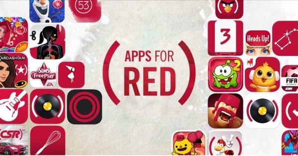 Światowy Dzień Walki z AIDS – kampania (RED) w App Storze