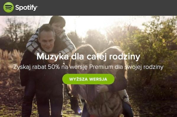 Spotify Family już dostępne w Polsce!