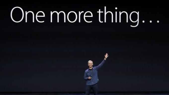 Tim Cook one more thing