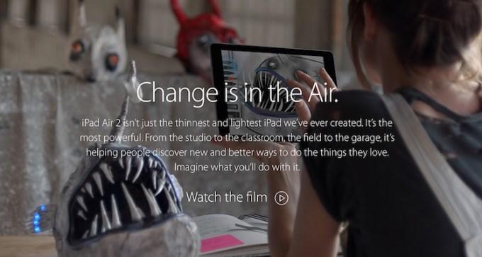 """iPad Air 2 - """"Change"""""""