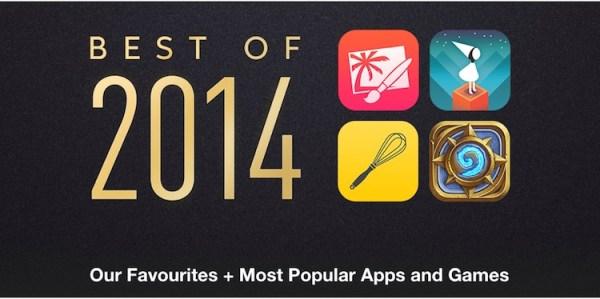 Najlepsze aplikacje i gry na iOS-a w 2014 roku