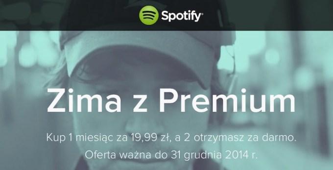 Spotify Zima z Premium