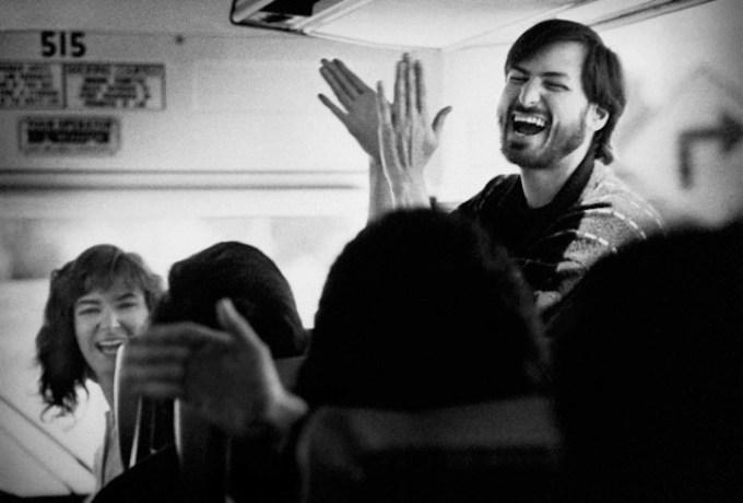 Steve Jobs w Fremont, California, około 1987. foto: Doug Menuez