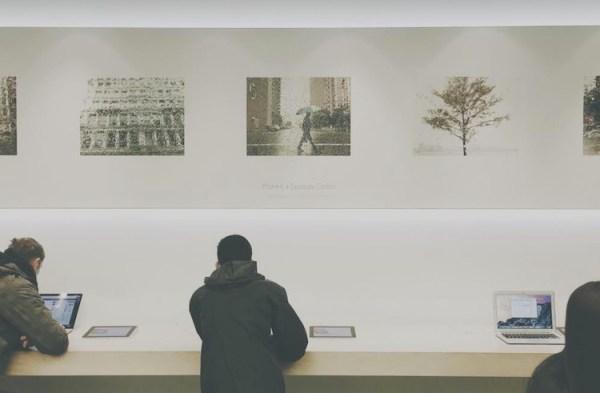 Apple Store zamienia się w galerię sztuki