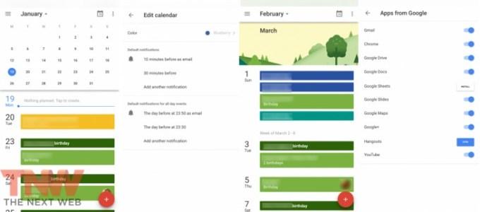 Kalendarz Google na iOS-a