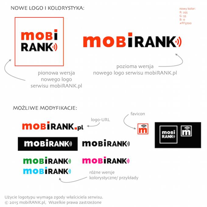 Nowe logo serwisu mobiRANK.pl