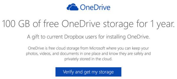 Microsoft szaleje – teraz 100 GB dla użytkowników Dropboxa