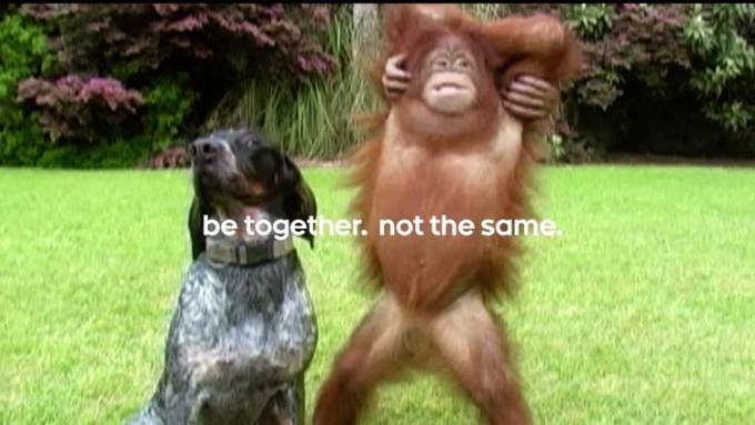 be together. no the same. - nowe reklamy Androida