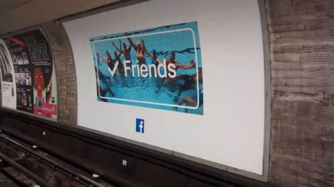 Kampania reklamowa Facebooka w Wielkiej Brytanii