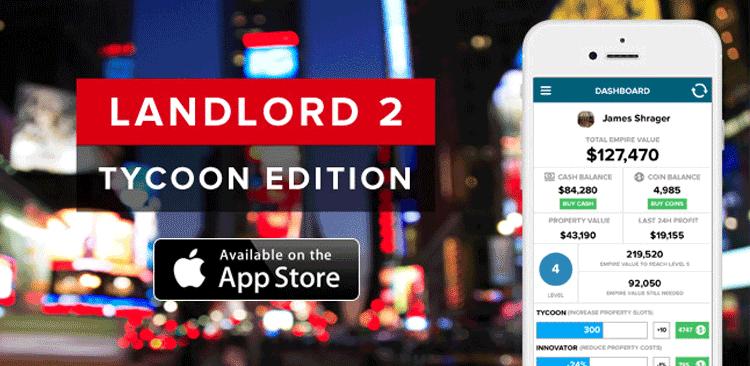 Landlord 2 - gra mobilna w świecie rzeczywistym