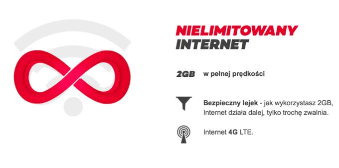 Nielimitowany internet w Virgin Mobile