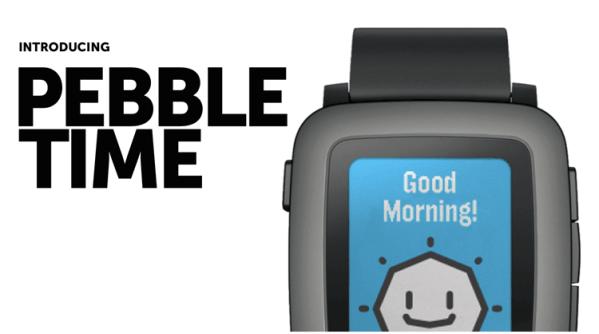 Pebble Time z kolorowym e-papierowym ekranem