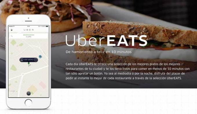 UberEATS w Barcelonie