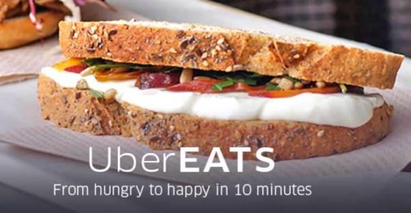 UberEATS, czyli rozwożenie jedzenia w 10 minut