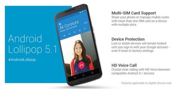 Android Lollipop 5.1 – zapowiedź nowej aktualizacji