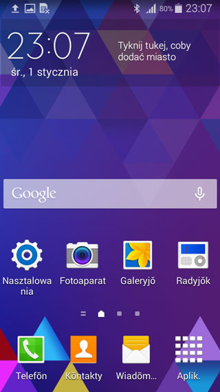 Android w języku śląskim