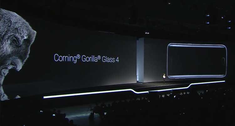 Samsung Galaxy S6 - Corning Gorilla Glass 4