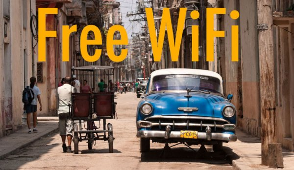 Pierwsze darmowe Wi-Fi na Kubie