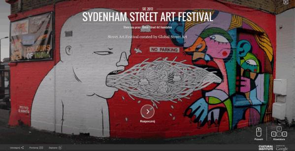 Google Street Art – dla miłośników murali