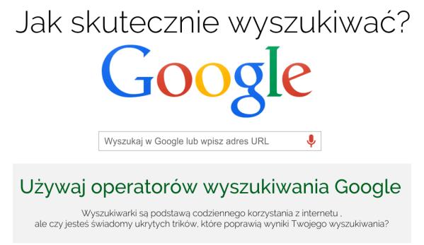 Jak skutecznie wyszukiwać w Google?