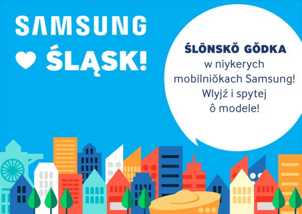 Język śląski na smartfonach Samsunga
