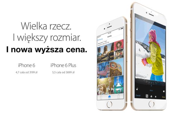 Apetyt rośnie w miarę… Apple podwyższyło ceny iPhone'ów 6
