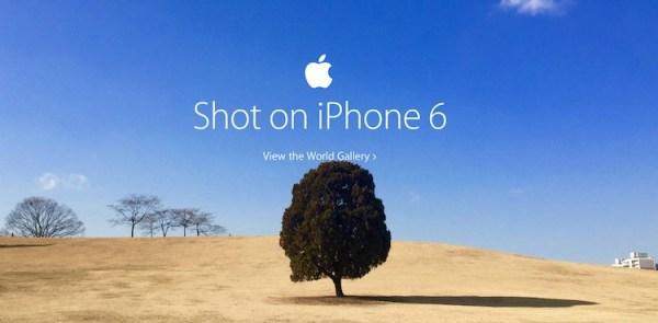 Apple promuje zdjęcia zrobione iPhone'em 6