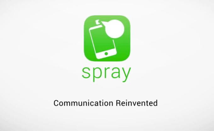 Spray - aplikacja mobilna