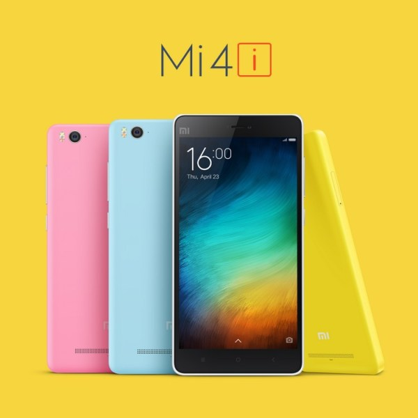 Nowy Xiaomi Mi 4i to lepszy klon iPhone'a 5c?