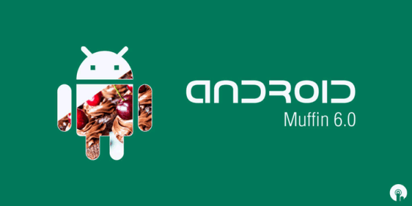 Koncept systemu Android 6.0 Muffin