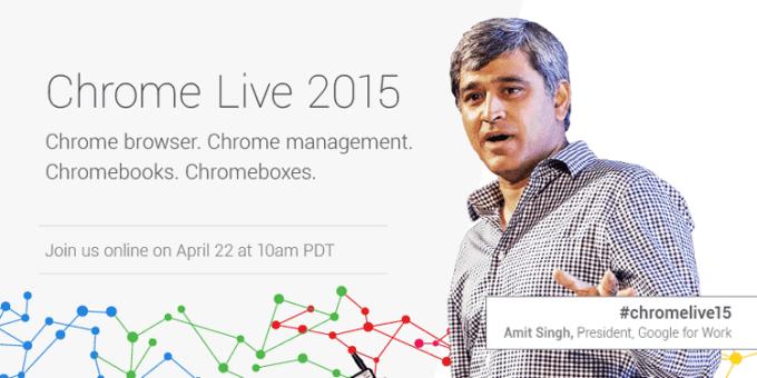 Chrome Live 2015, Amit Singh