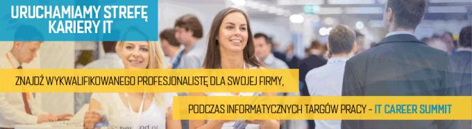 Targi pracy IT Career Summit (banner)