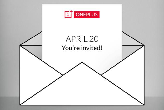 OnePlus - zaproszenie 20 kwietnia 2015