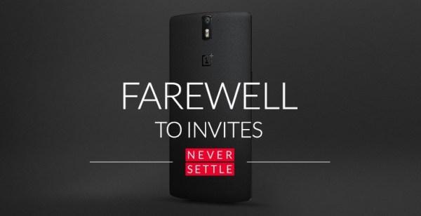 Od teraz OnePlus One bez zaproszenia na zawsze