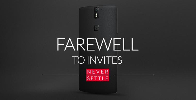 OnePlus One bez zaproszenia na zawsze