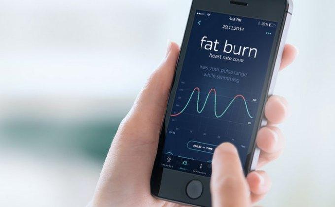 Swimmo iPhone app mobile
