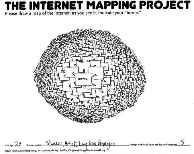 Internet Mapping Project (mapa 1)