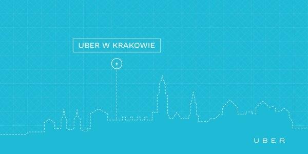 Uber jeździ już w Krakowie